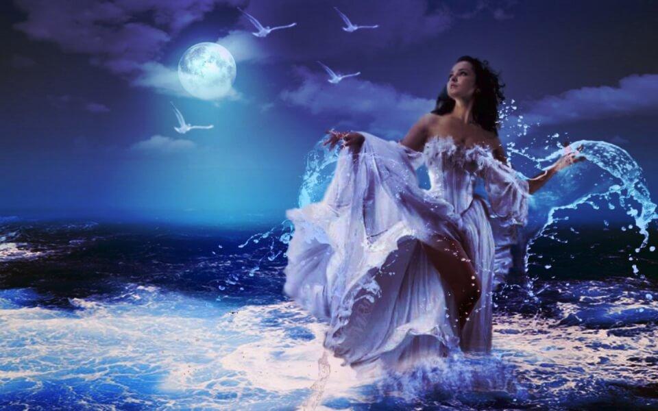 Женские имена связанные с водой и морем