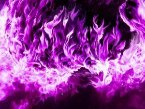 Пурпурный огонь чистки кармы