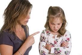 Когда ребенок делает что-то, что нам не нравится