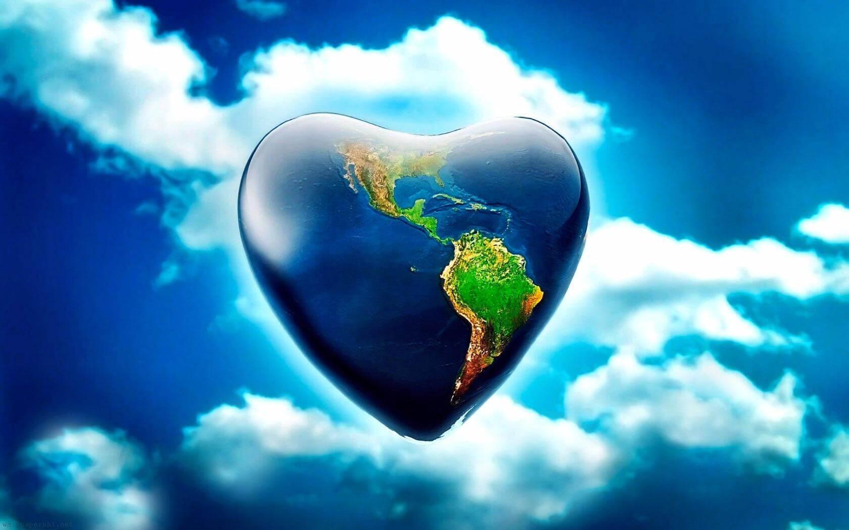 Написать, открытки с любовью к миру