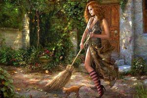 Превратим уборку в ритуал говорилки-очищалки