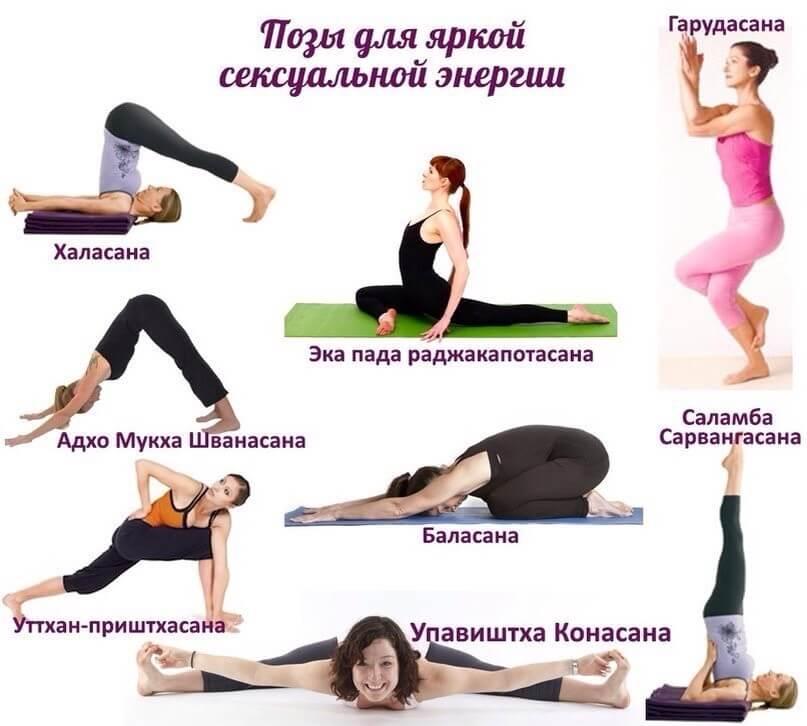 Упражнения для восстановления сексуальной энергии