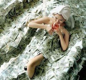 Деньги в теле