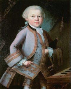 Портрет юного Моцарта