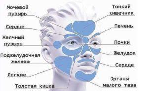 Китайская «карта лица» расскажет, что беспокоит ваш организм