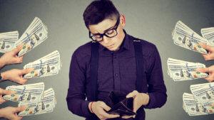 Отсутствие денег – это не случайность