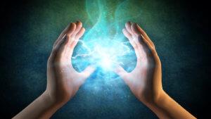 Работа с энергией с помощью рук