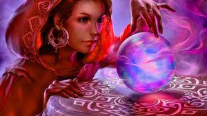 Женская волшебная техника